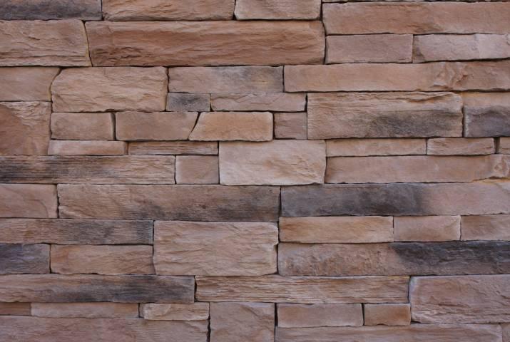 kámen umělý lámaná skála, imitace kamene do interiéru, dekorační kámen