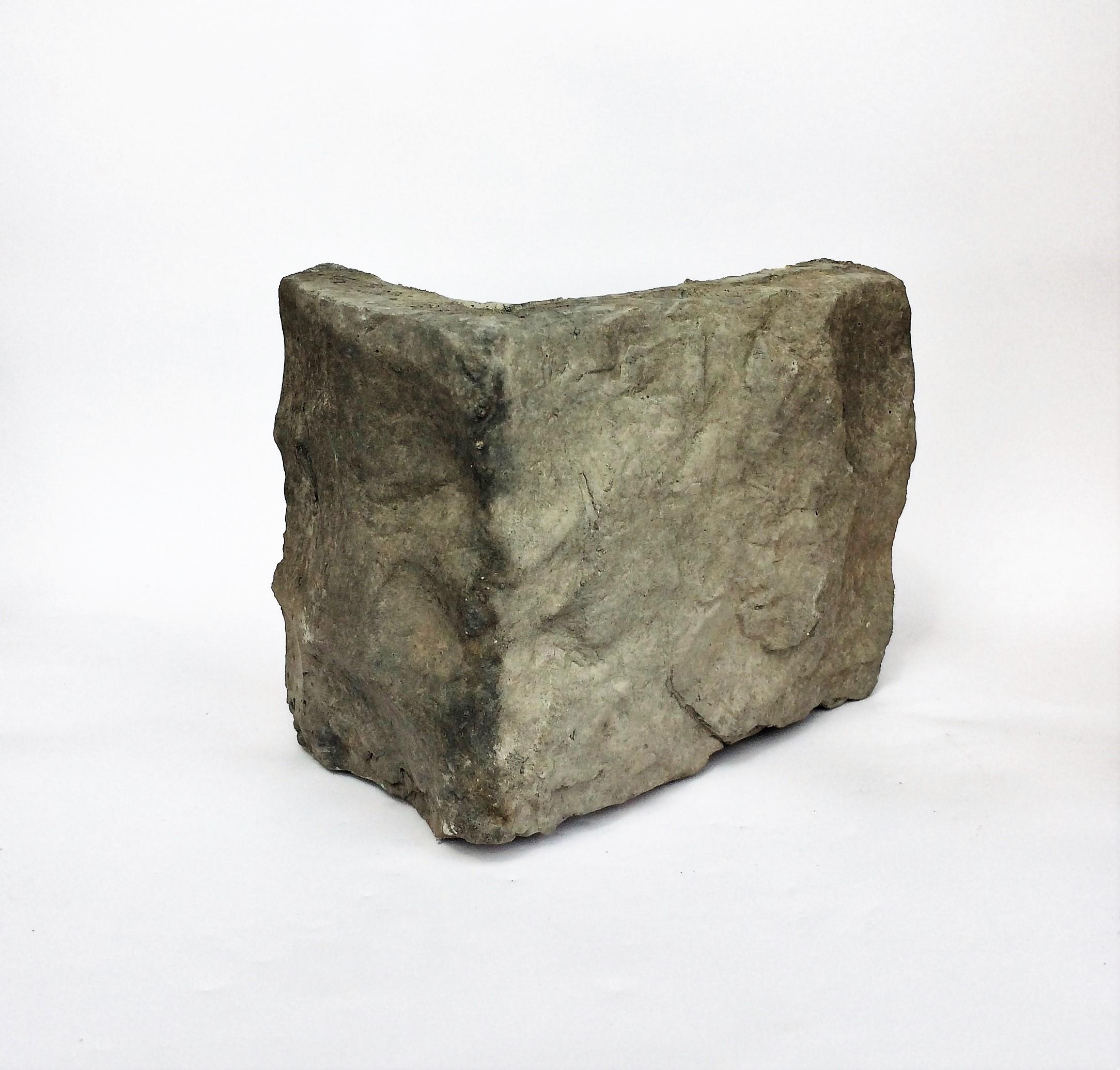 kámen umělý hradní zeď basalt, imitace kamene do interiéru, dekorační kámen, obkladový kámen,rohový prvek Hradní zeď Basalt 027