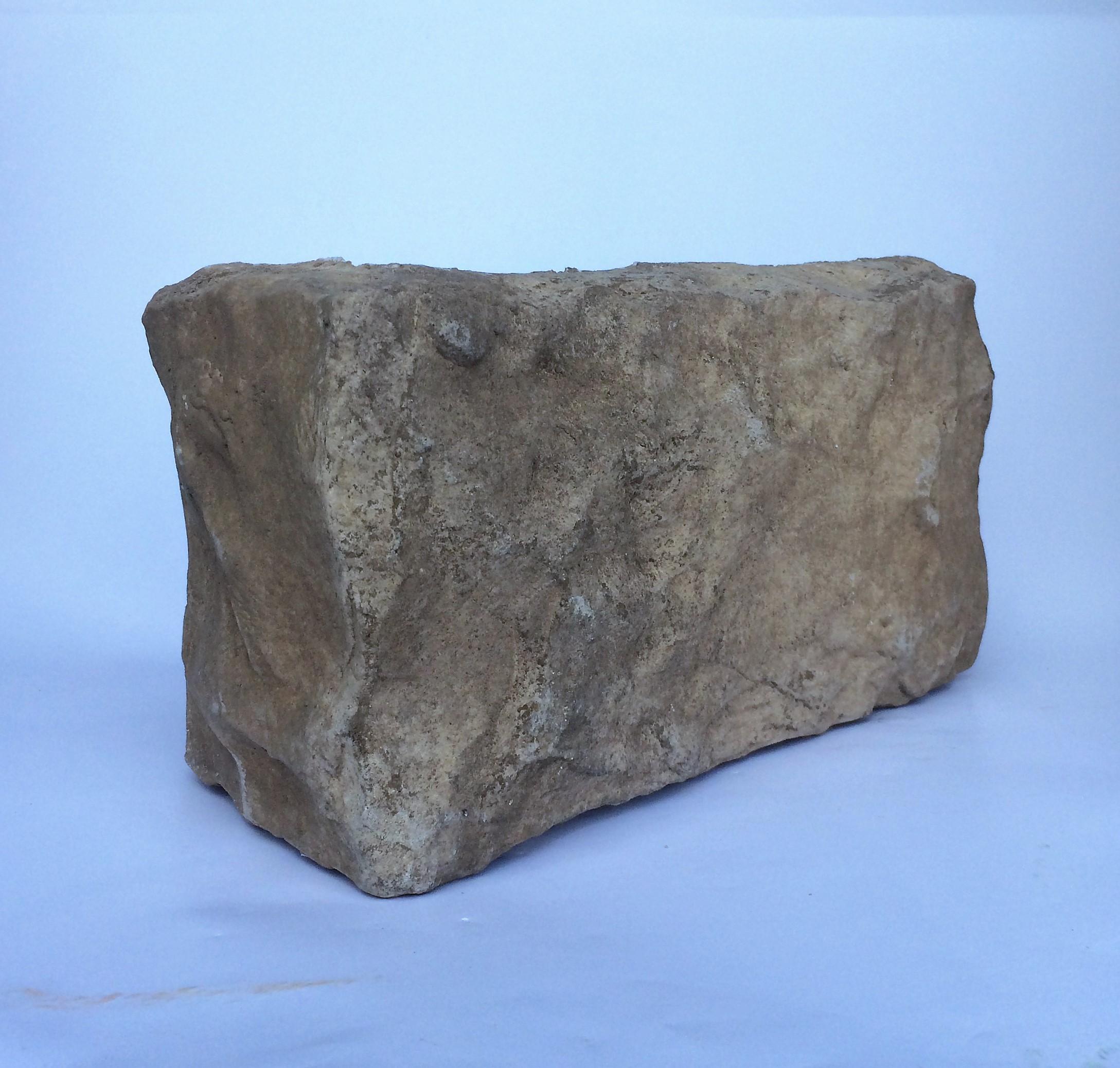 kámen umělý hradní zeď Champagne, imitace kamene do interiéru, dekorační kám,rohový prvek Hradní zeď Basalt 027