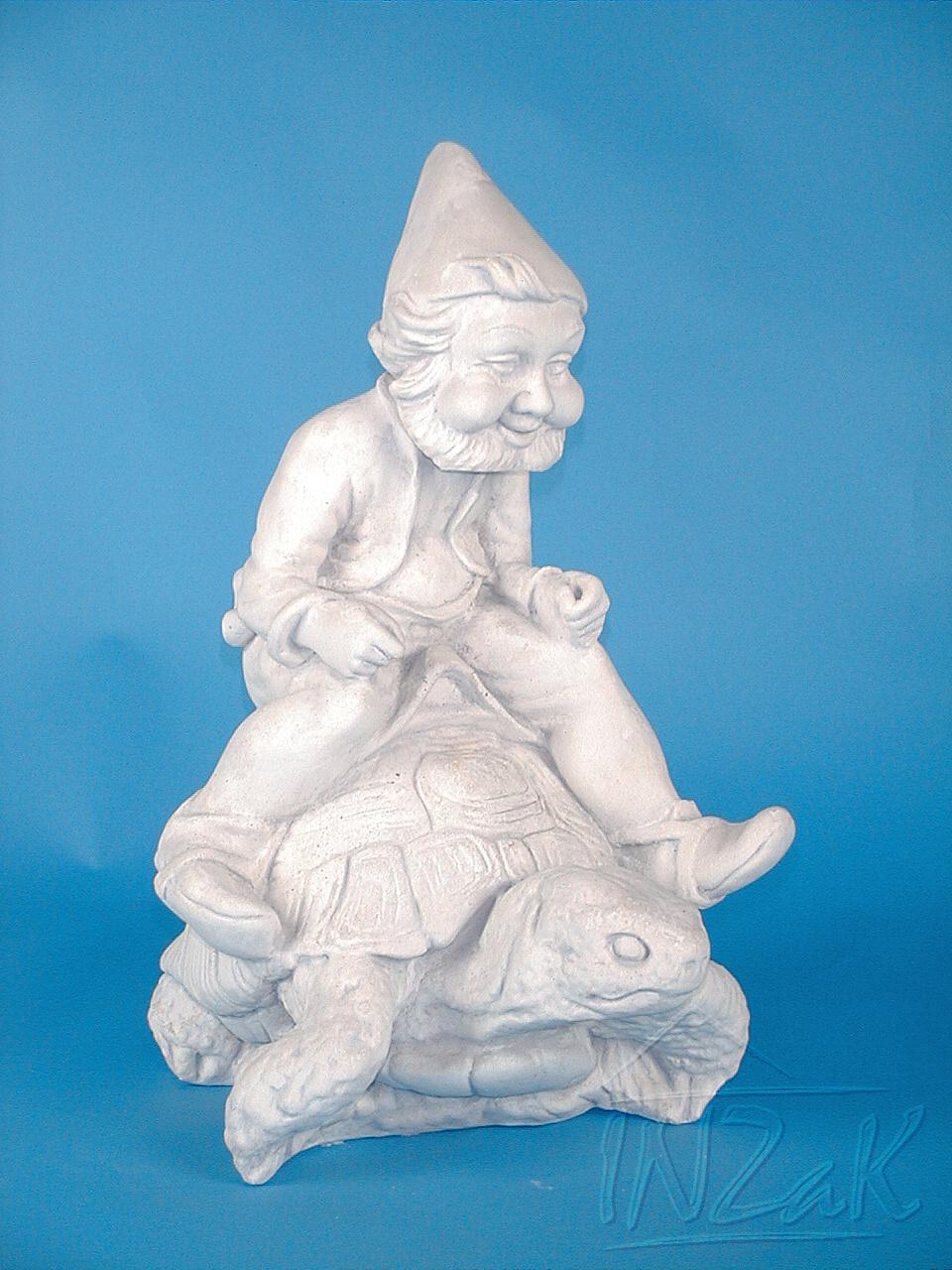 bílý trpaslík, sádrový trpaslík, zahradní trpaslíci, zahradní sochy