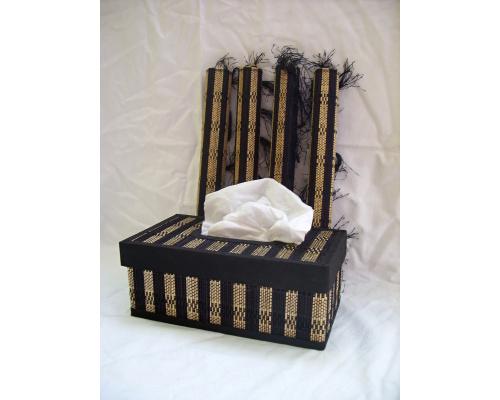 prostírání, krabička na ubrousky, Indonésie, bytové doplňky