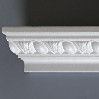 Polystyrenové stropní lišty